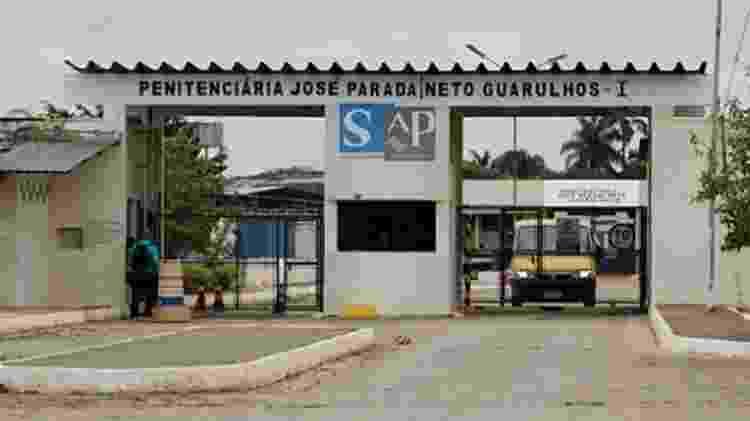 Penitenciária José Parada Neto, em Guarulhos, onde seu José ficou preso - Divulgação - Divulgação