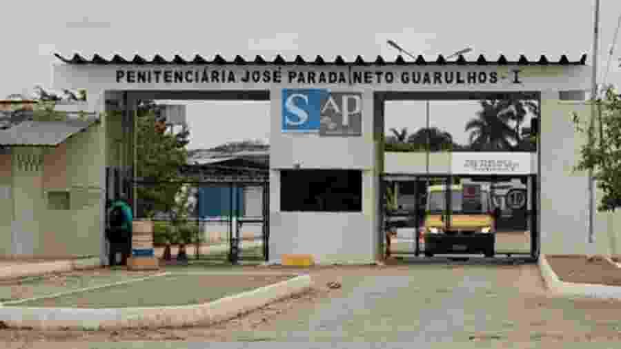 Penitenciária José Parada Neto, em Guarulhos, onde dois presos morreram hoje sob suspeita de estarem com coronavírus - Divulgação