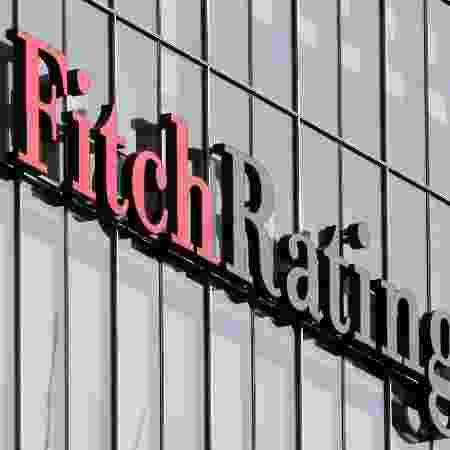 Logo da agência de classificação de riscos Fitch no escritório da empresa em Londres - Reinhard Krause