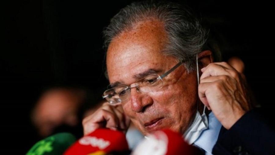Paulo Guedes entregou ao Congresso um projeto que unifica dois impostos complexos em um único tributo novo - REUTERS/ADRIANO MACHADO