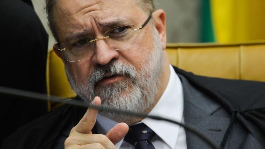 O procurador-geral da República, Augusto Aras - ABR