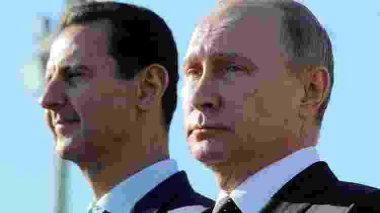 Assad se beneficiou do apoio de Putin na Síria - Reuters - Reuters