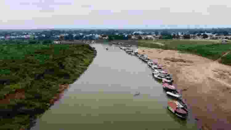 Aldeia está a seis horas de barco do município de Feijó - BBC - BBC