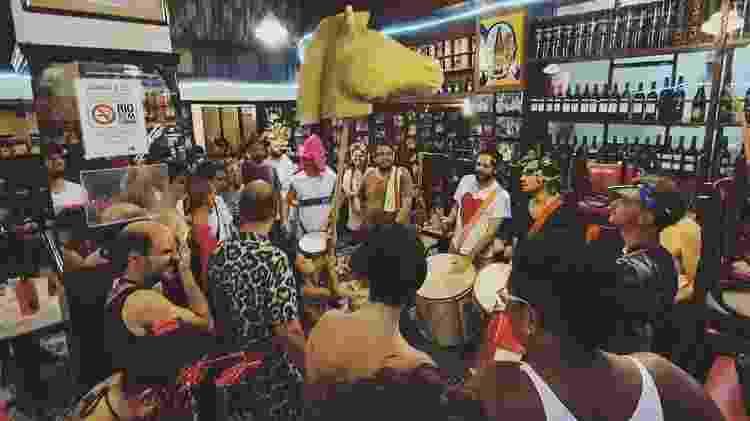Salão do bar Casa Villarino, em foto pré-pandemia  - Reprodução  - Reprodução