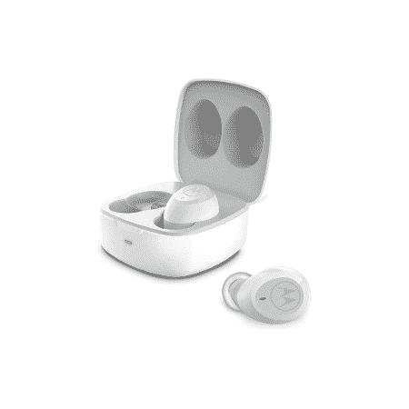 Fone de Ouvido Motorola Vervebuds 100 Bluetooth Estéreo Resistente à Água Branco - Amazon - Amazon