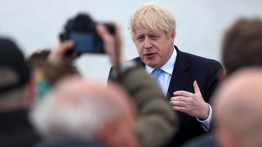 Boris Johnson deve anunciar uma reabertura significativa da economia da Inglaterra  - Lee Smith/Reuters