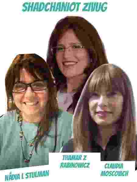 As três casamenteiras, em montagem de Nadia Stulman - Nadia Stulman - Nadia Stulman