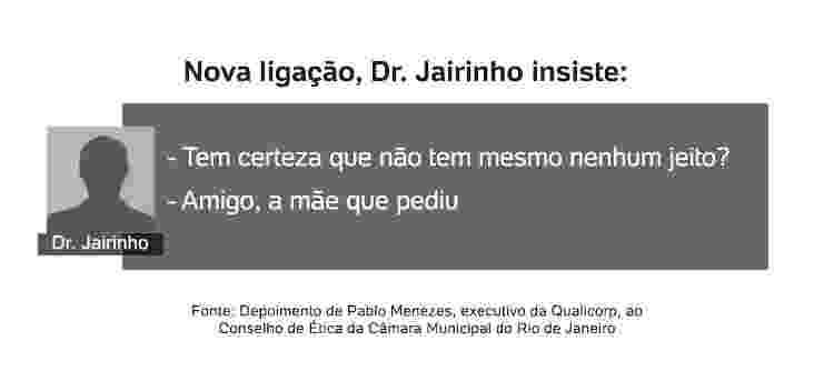 conversa 4 Jairinho - Arte/UOL - Arte/UOL