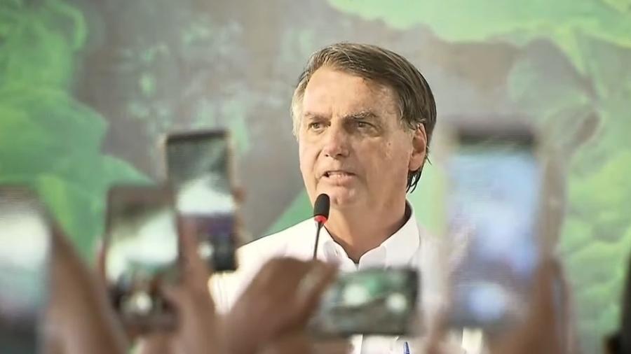Bolsonaro participou de culto em Belém, ao lado do pastor Silas Malafaia, e reiterou que indicará evangélico ao STF - Reprodução / YouTube