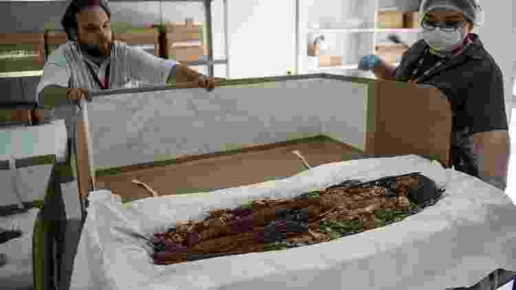 Até hoje foram analisadas cerca de 208 múmias - Getty Images - Getty Images