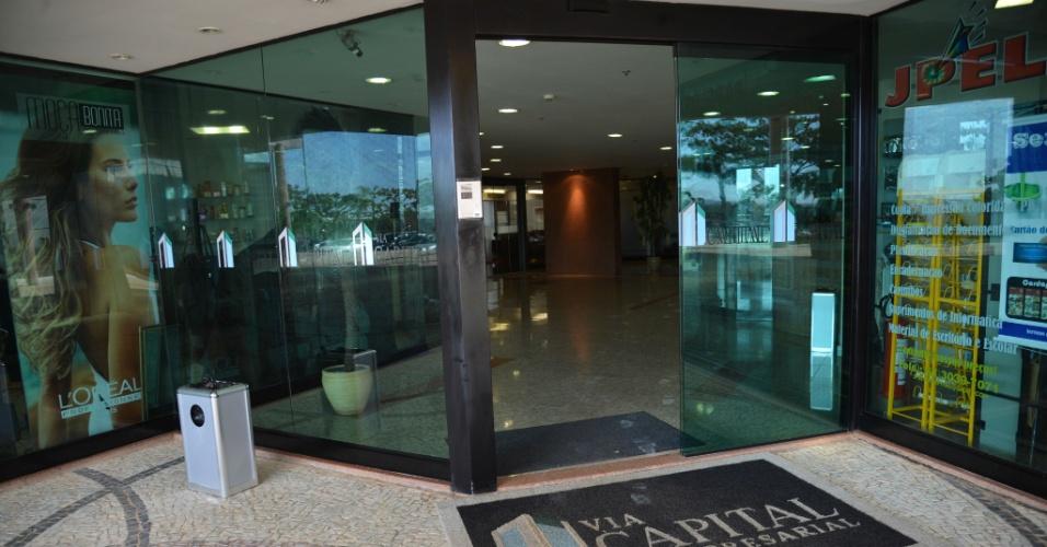 28.jul.2015 - A Polícia Federal deflagrou a 16ª fase da Operação Lava Jato nesta terça-feira. Na capital federal, um dos alvos de busca foi o escritório da Eletronuclear, subsidiária da Eletrobras, no edifício Via Capital Centro Empresarial