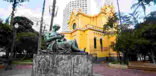 Estátua da Mãe Preta, no Largo do Paissandu, no centro - Ricardo Matsukawa/ UOL - Ricardo Matsukawa/ UOL