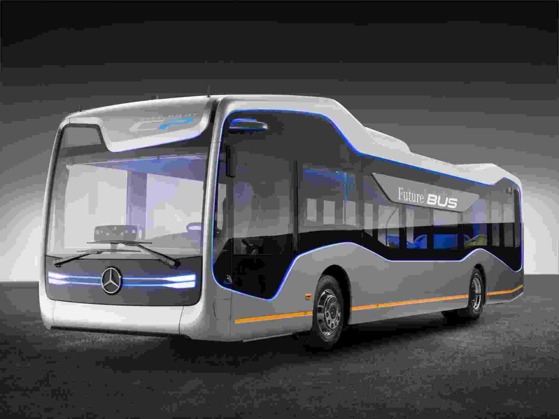 ônibus do futuro da Mercedes-Benz - Divulgação