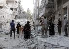 """Síria vive uma """"miniguerra mundial"""": quem são os protagonistas desse conflito? - Thaer Mohammed/AFP"""
