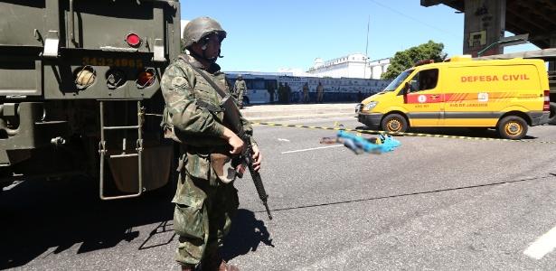 Homem suspeito de participar de assalto foi morto na zona portuária do Rio