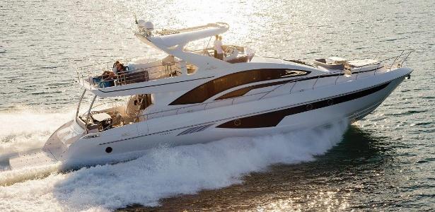 O Intermarine 80 será o maior barco da feira com 230 m² e 24,35 metros de comprimento - Divulgação