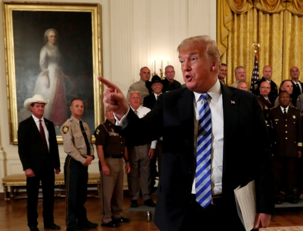 """Mudança de tom do Departamento de Trabalho ecoa a agenda de """"América Primeiro"""" do presidente Donald Trump  - Leah Millis/Reuters"""