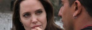 Líder chavista critica visita de Angelina Jolie a venezuelanos no Peru (Foto: Santiago Escobar-Jaramillo/AFP)