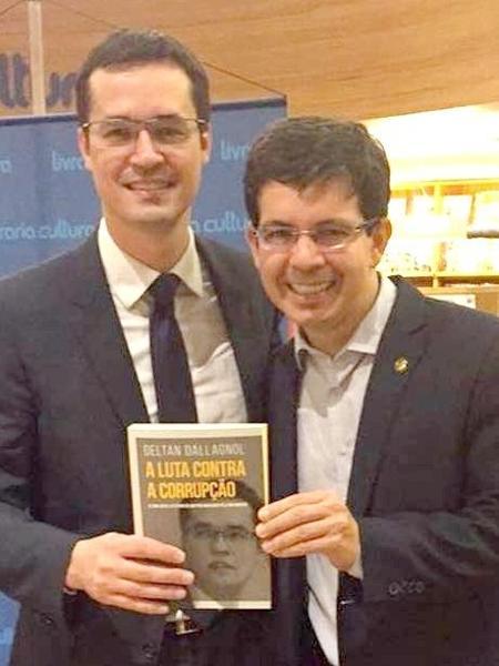 O procurador da República, Deltan Dallagnol, e o senador Randolfe Rodrigues (Rede)  - Reprodução/ Twitter