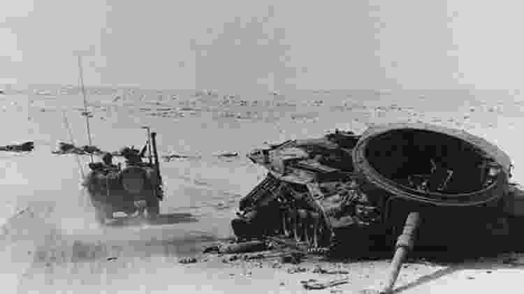 O embargo ocorreu como resultado da Guerra Árabe-Israelense de 1973, também chamada de Guerra do Yom Kippur - Getty Images
