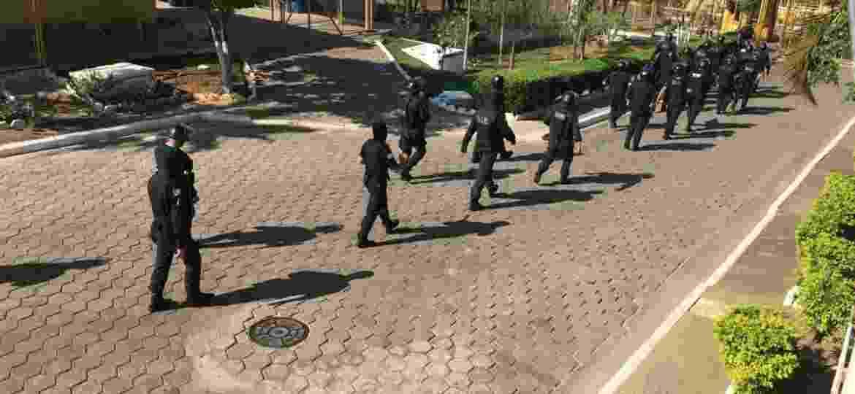 Agentes fazem operação contra integrantes do PCC no interior de São Paulo - Divulgação/Deic