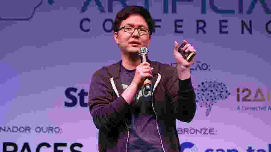 Steven Choi, gerente de produto da Olivia, startup que usa inteligência artificial para reduzir gastos - Eduardo Viana/StartSe