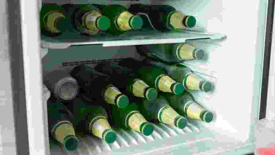Muito cuidado ao encostar numa garrafa congelada, amigos - Getty Images
