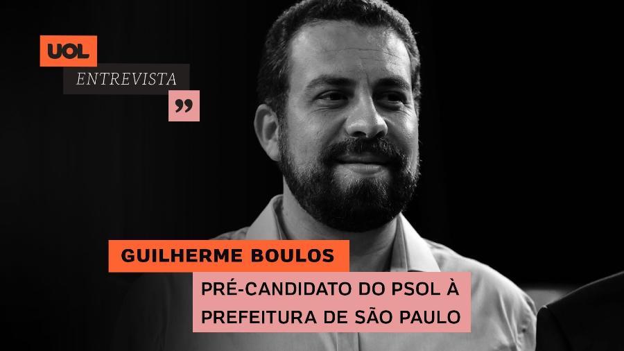UOL Entrevista com Guilherme Boulos (21/07/20) - Arte/UOL