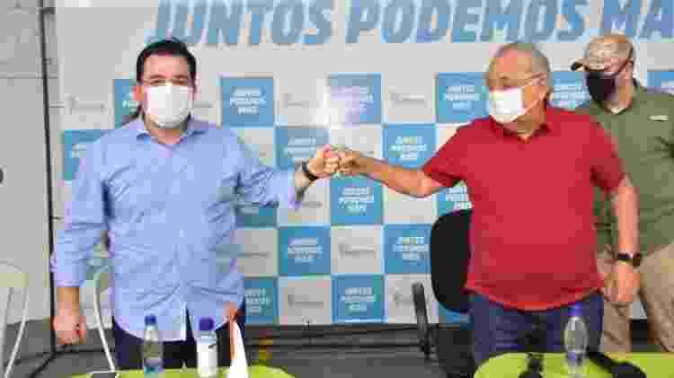 Convenção do Podemos oficializa Amazonino Mendes como candidato à Prefeitura de Manaus - Divulgação - Divulgação