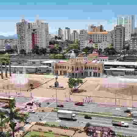 Dois dos corpos foram encontrados na região da Praça da Estação (foto) - Prefeitura de Belo Horizonte/Divulgação