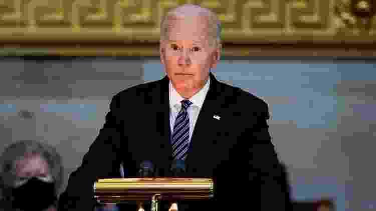 Biden ligou para Putin na terça-feira pela segunda vez em seu mandato - Getty Images - Getty Images