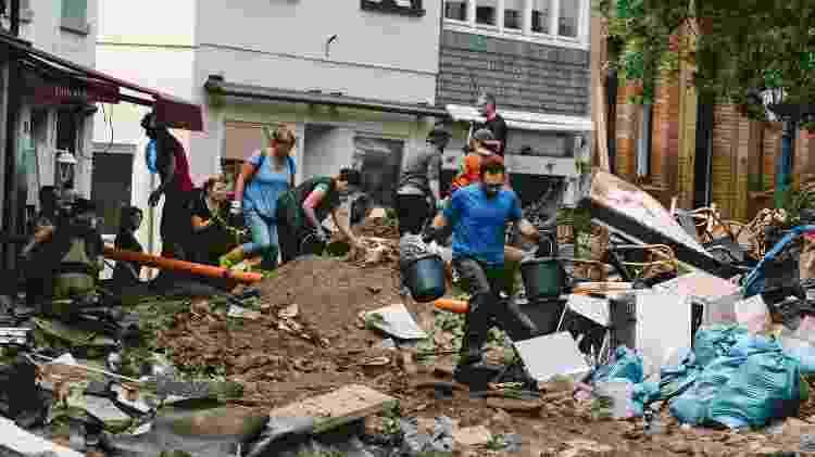Enchente na Alemanha - Tang Ying/Xinhua - Tang Ying/Xinhua