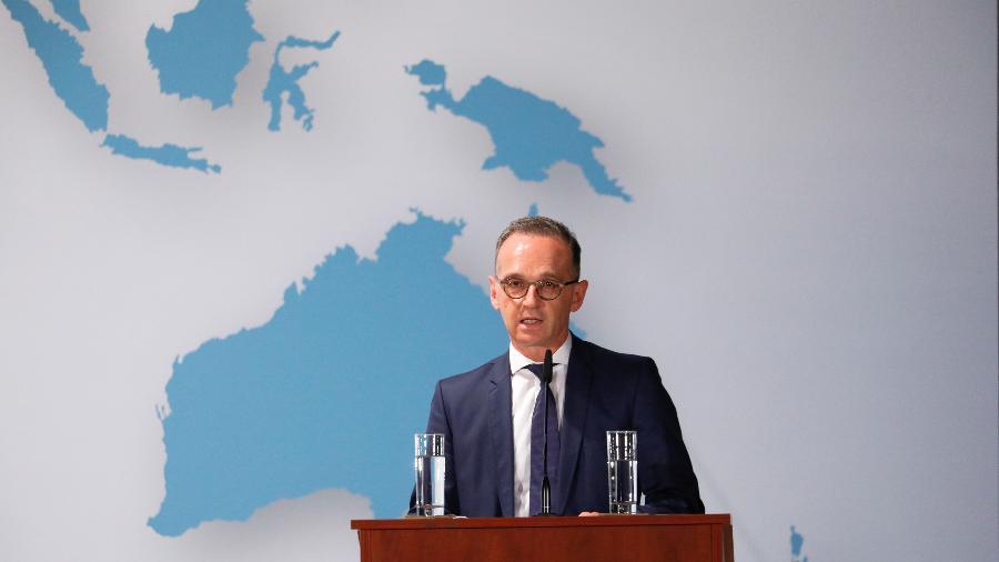 """""""Agendar um show nas Nações Unidas não serviria para nada"""", disse Maas - Michele Tantussi/Pool/Reuters"""