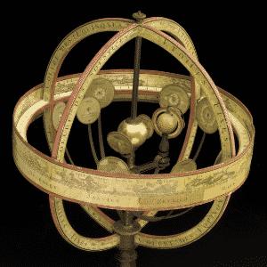 21.jan.2016 - Sistema Copérnico -  Com o Sol ao centro, este modelo demonstra a visão de Nicolau Copérnico do cosmos. Este modelo é do início de 1800 - Reprodução/Museu de Ciência de Londres