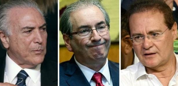 Pela Constituição, depois do vice, presidente da Câmara e do Senado podem assumir Presidência - AP/Reuters/AFP