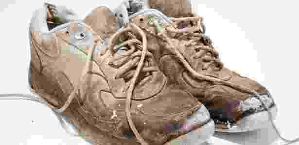 tenis velho, produto má qualidade, estragado - Getty Images/iStockphoto - Getty Images/iStockphoto
