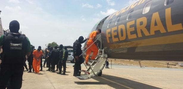 23 presos foram transferidos para o Presídio Federal de Mossoró (RN)