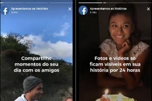 Facebook Stories, novo clone do Snapchat, chega ao Android; veja como usar (Foto: Reprodução)