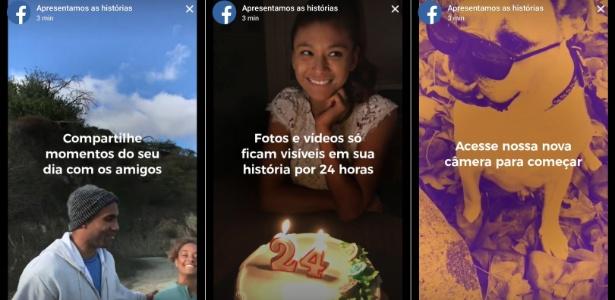 O novo Facebook Stories