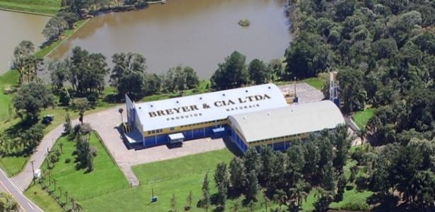 Fábrica da Breyer, que tem sede em União da Vitória (PR)