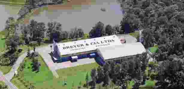 Fábrica da Breyer, que tem sede em União da Vitória (PR) - Reprodução