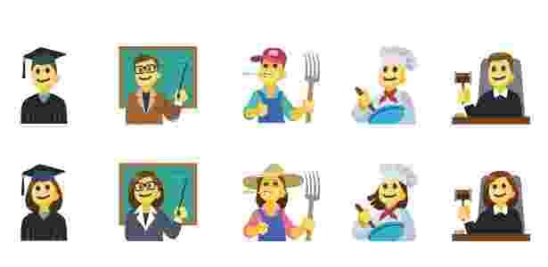 6.jul.2017 - Facebook lança novos emojis - Divulgação/Emojipedia - Divulgação/Emojipedia
