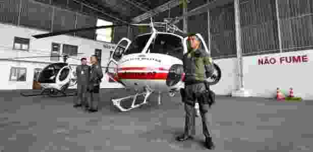 Governo do Amazonas apresentou três helicópteros que estavam parados havia três anos e anunciou que as aeronaves reforçaram a segurança pública do Estado - Divulgação/SSP-AM - 19.dez.2017