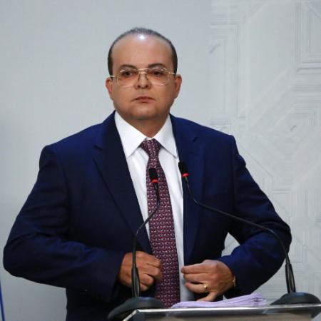O governador do Distrito Federal, Ibaneis Rocha (MDB) - FÁTIMA MEIRA/FUTURA PRESS/ESTADÃO CONTEÚDO
