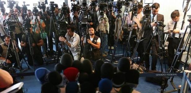 O Brasil está entre os países com mais impunidade de assassinato de jornalistas. De 2008 a 2018, houve 17 casos em que criminosos não foram condenados - ANTÔNIO CRUZ/AGÊNCIA BRASIL