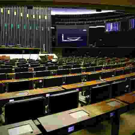 A votação será dividida em duas etapas, uma para deputados e outra para senadores - Folhapress