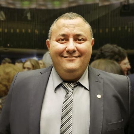 O deputado federal Márcio Labre (PSL-RJ) eleito pela 1ª vez em 2018 - Reprodução/Facebook