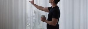 Esta cortina purificadora de ar transforma tecido em filtro de poluição (Foto: Reprodução)