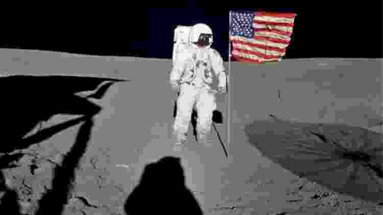 O astronauta Edgar D. Mitchell foi o piloto do módulo lunar para a missão Apollo 14 - NASA
