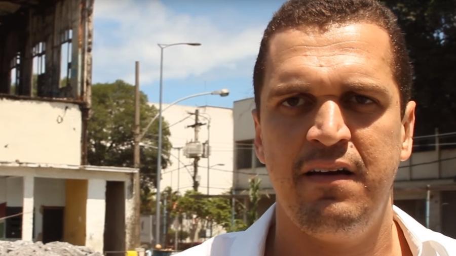 Suspeito pelo atentado, Eduardo Fauzi foi preso em setembro de 2020, acusado de crime de terrorismo - Reprodução/YouTube